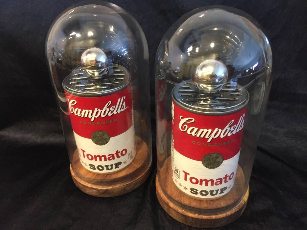 トマトスープの缶スピーカー『CAN SPEAK』ケース付き