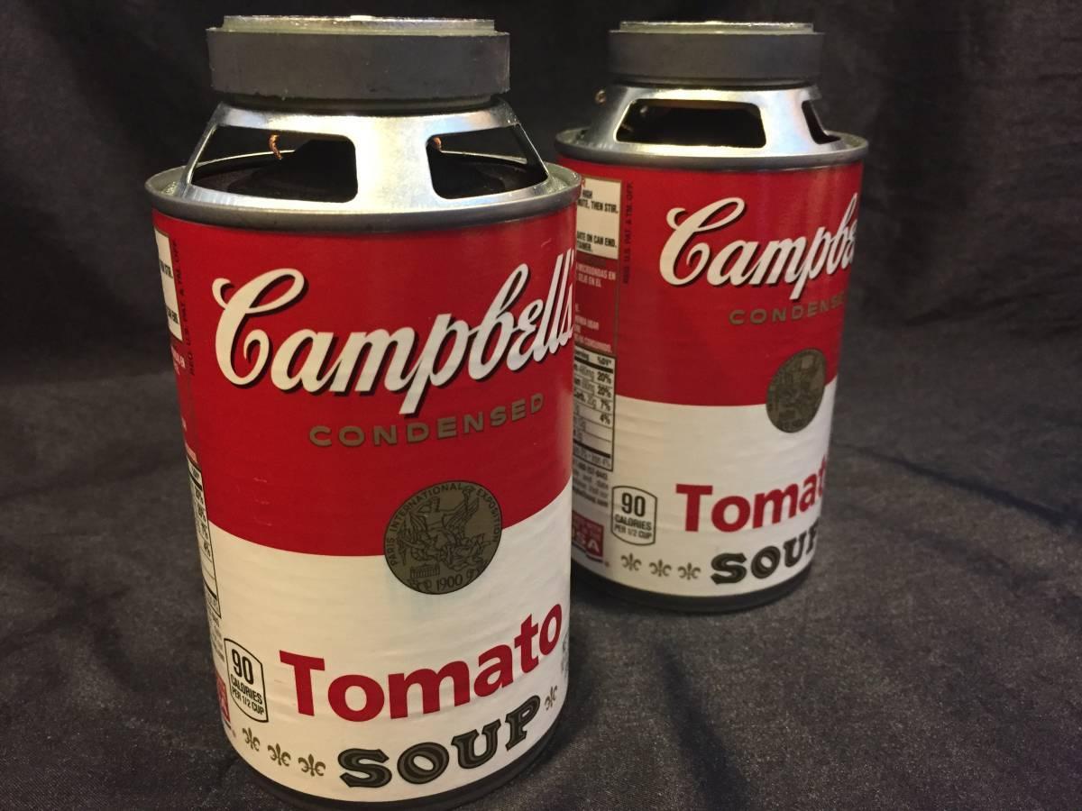 おしゃれな空き缶スピーカー『CAN SPEAK』