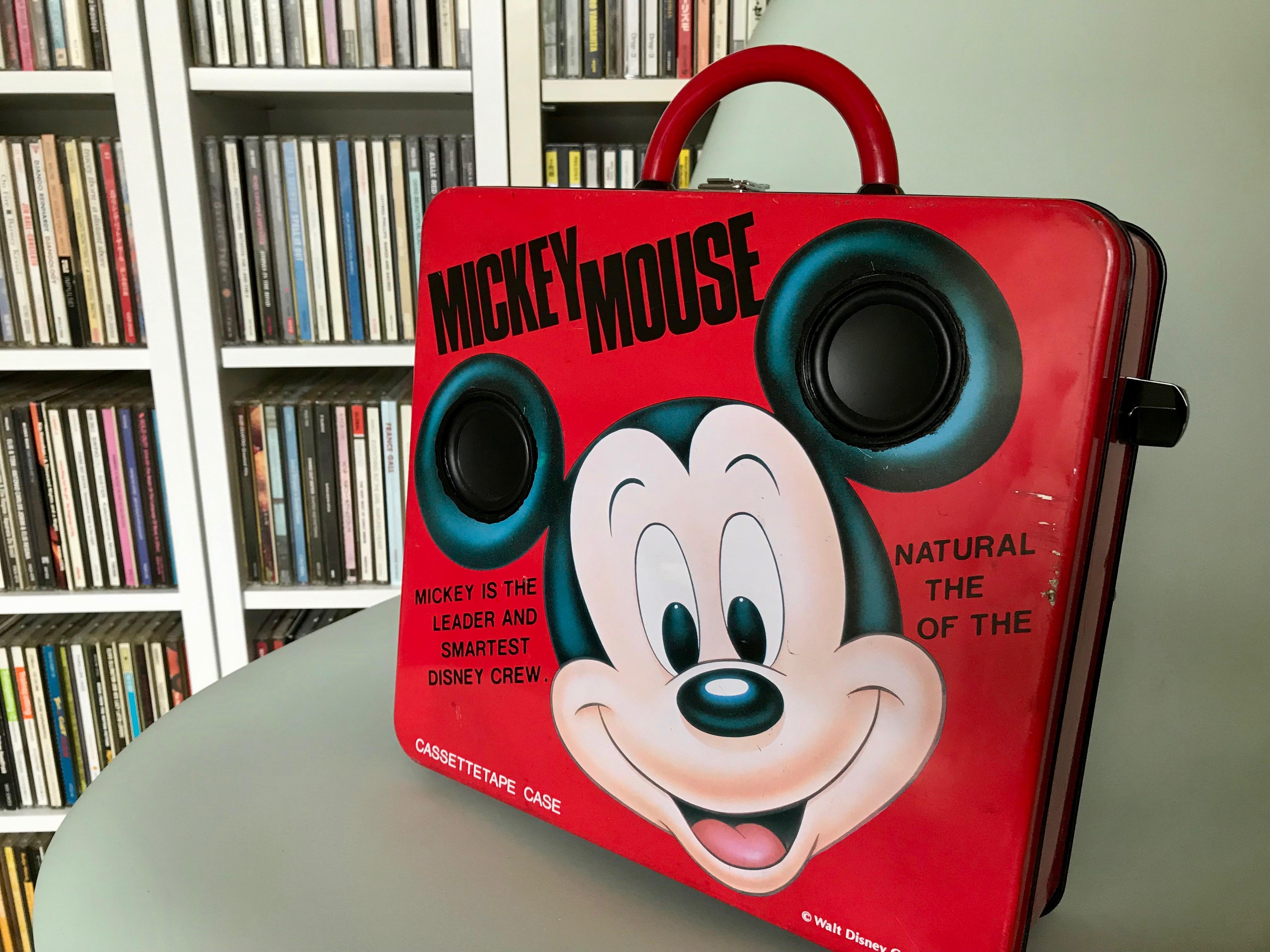ミッキーマウスのケース型『SOUNDTRUNK』