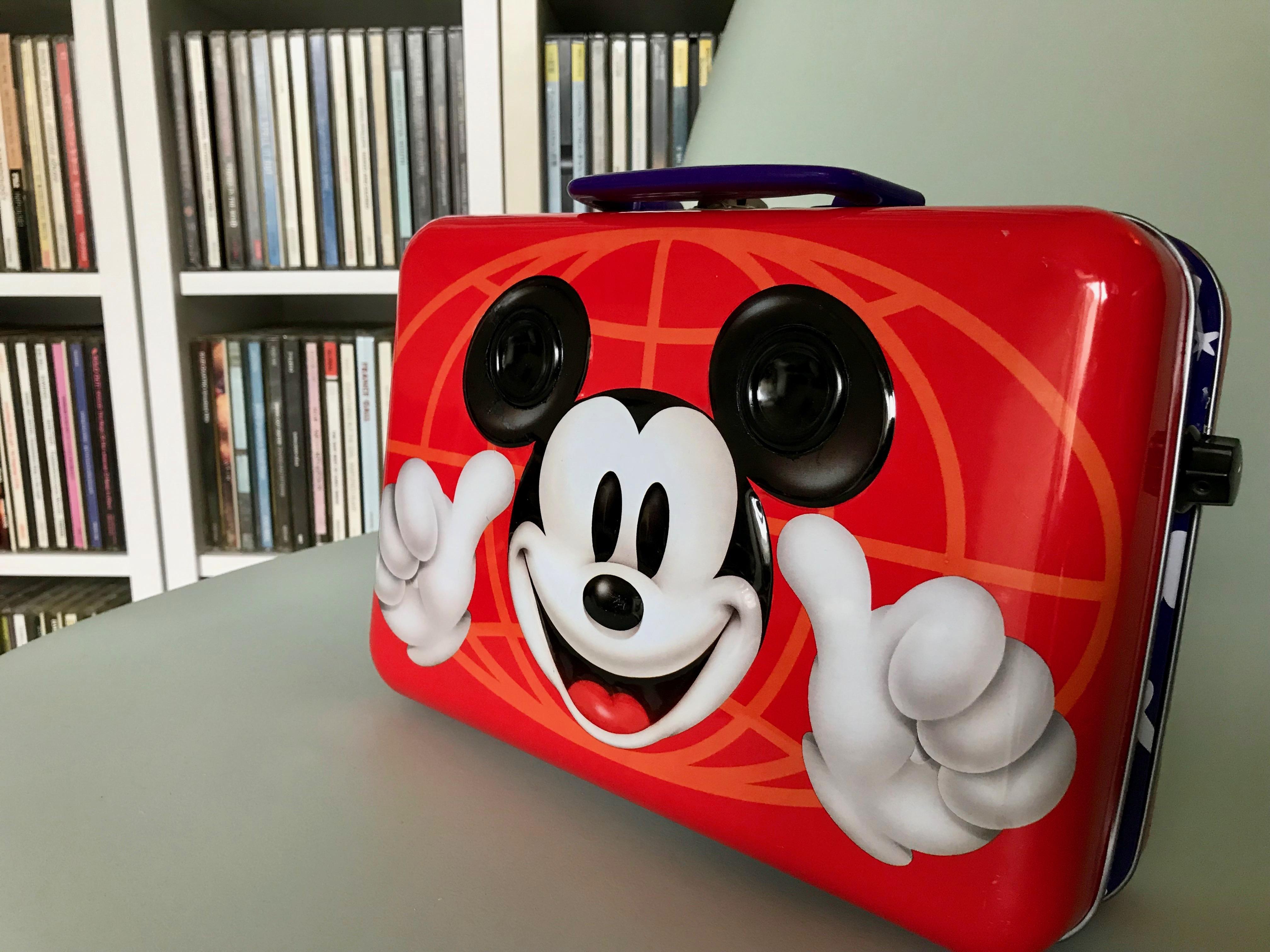 ミッキーマウスの『SOUNDTRUNK』ミニ