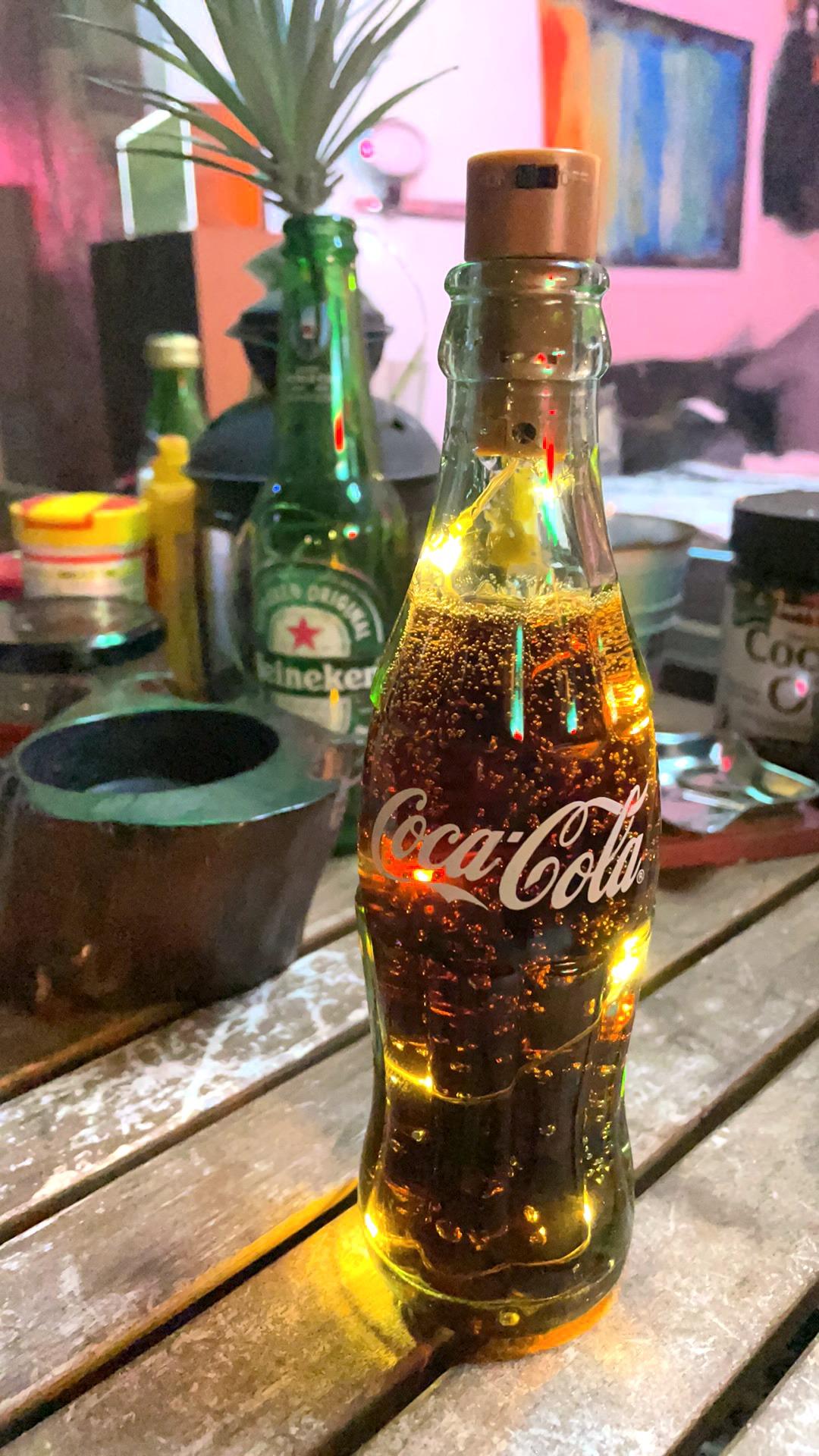 ボトルライト『Coca-Lamp』